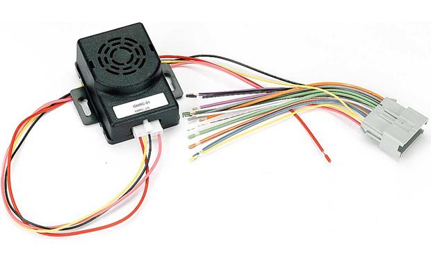 metra vt-gmrc-01 wiring interface front