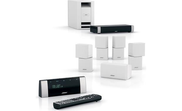 Bose® Lifestyle® V20 system System with white speakers