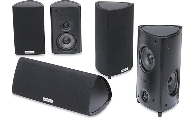 Polk Audio RM85 Home Theater Speaker System Front