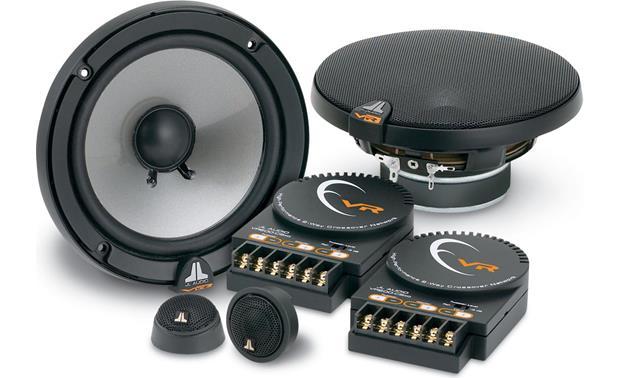 Jl Audio Vr600csi Evolution™ Vr Series 612\ Ponent Speaker Rhcrutchfieldca: Jl Audio Crossover At Gmaili.net