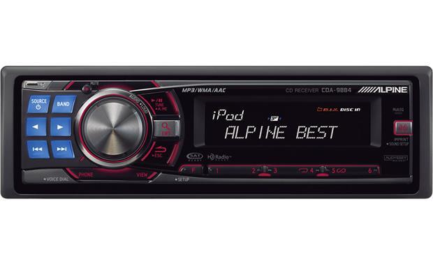 alpine cda 9884 cd receiver at crutchfield canada rh crutchfield ca