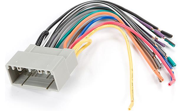 Phenomenal Metra 70 6502 Receiver Wiring Harness Connect A New Car Stereo In Wiring Digital Resources Inamasemecshebarightsorg