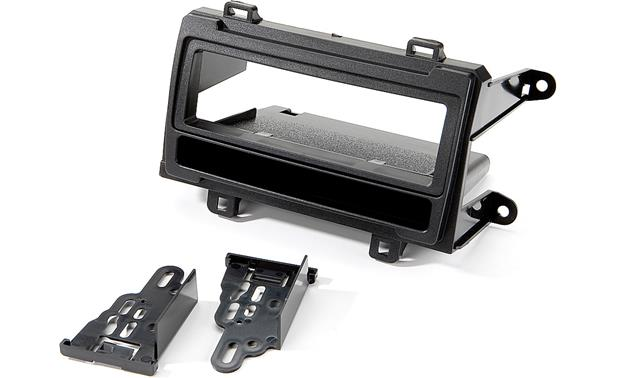 Metra 99-8224 In-dash Receiver Kit Kit package with brackets, bezel, and pocket