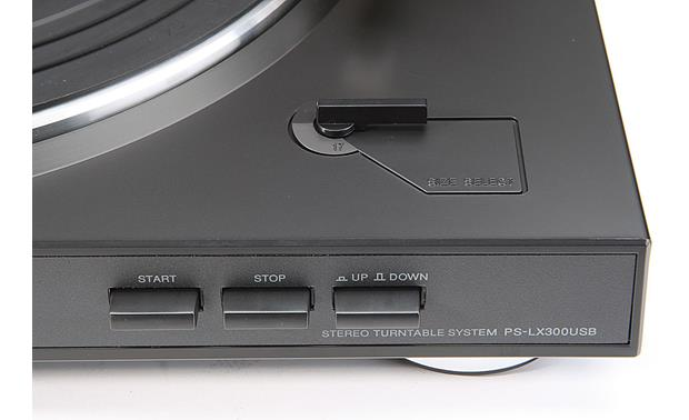 Sony PS-LX300USB Front right (detail)