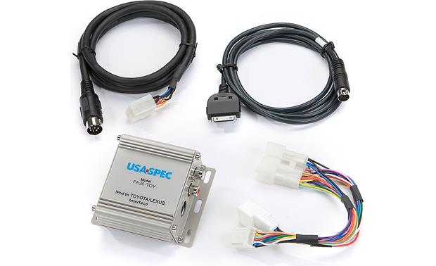 USA Spec iPod® Interface for Toyota Front