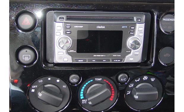 Metra 95-8202 Dash Kit Kit installed