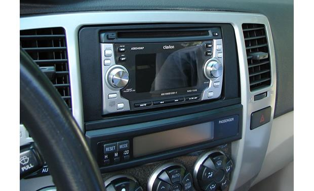 Metra 95-8210 Dash Kit Kit installed with double-DIN radio (sold separately)