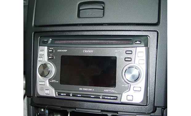 Metra 99-7602 Dash Kit Kit installed with radio (not included)