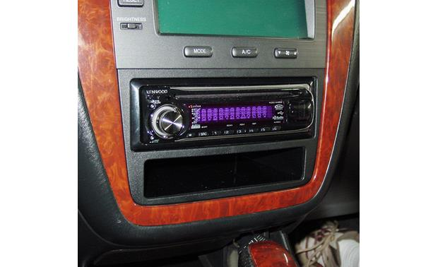 Metra 99-7866 Dash Kit Kit installed