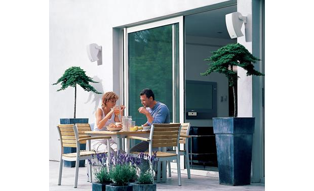 Bose® 251® environmental speakers Patio installation