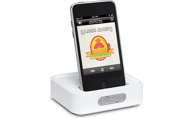 Sonos® Wireless Dock 100 Front (iPod® not included)