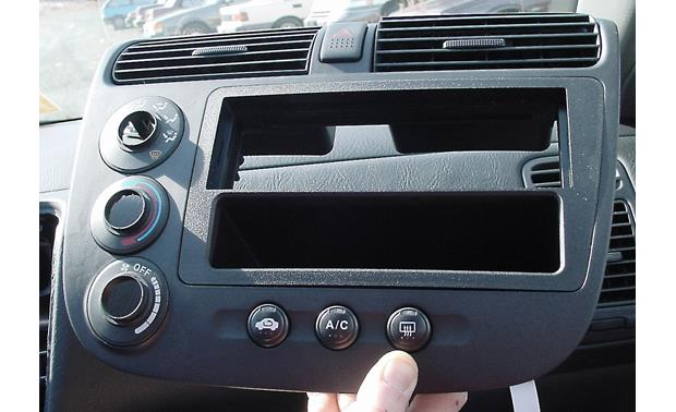 American International HON-K809 Dash Kit Kit installed