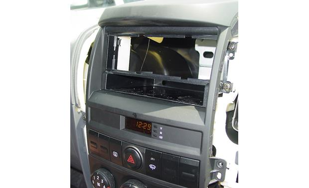 Metra 99-1008 Dash Kit Kit installed