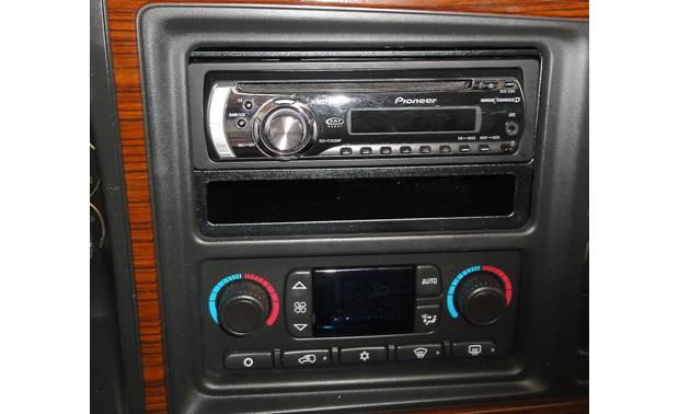 Metra 99-2009 Dash Kit Kit installed