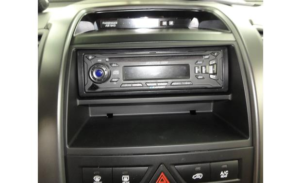 Metra 99-7340B Dash Kit Kit installed