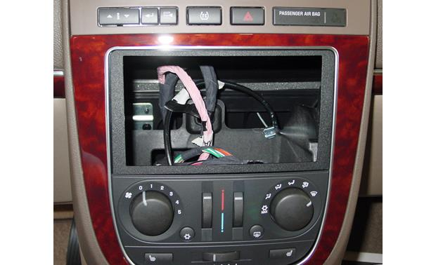 Metra 95-3304 Dash Kit Kit installed