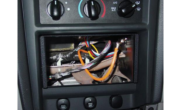 Metra 95-5026 Dash Kit Kit installed