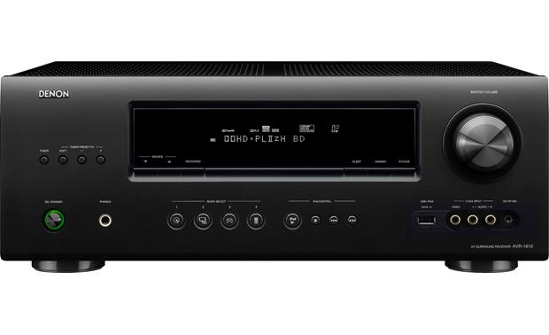 denon avr 1612 home theatre receiver with 3d ready hdmi switching at rh crutchfield ca Denon AVR 900 Remote denon avr 1612 owners manual