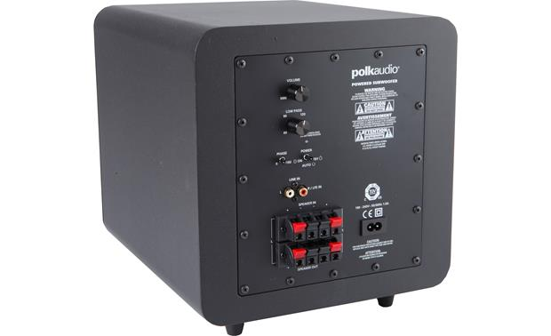 Polk Audio PSW111 Back