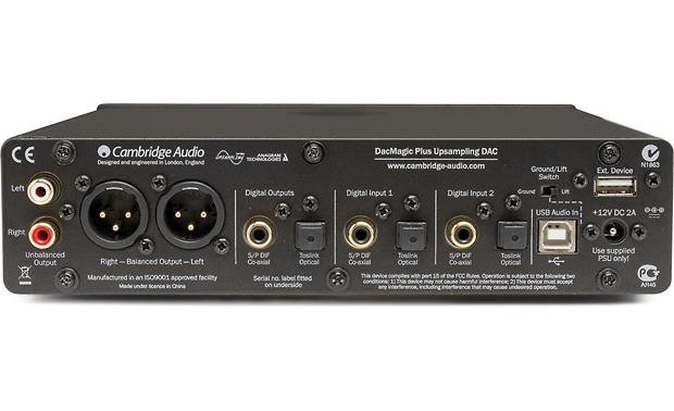 Cambridge Audio DacMagic Plus Back