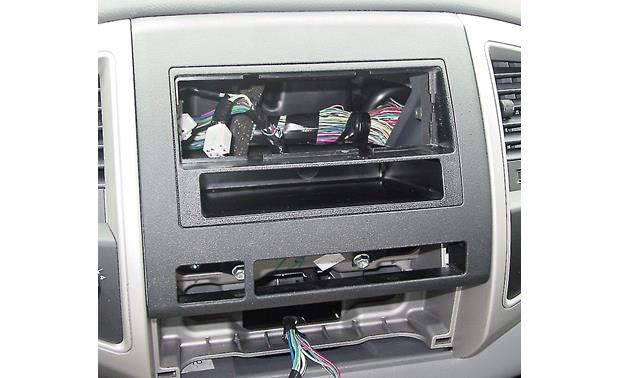 Metra 99-8214 Dash Kit Black kit Installed