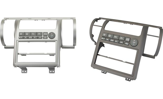 Metra 99-7604 Dash Kit Gray on left, Tan on right