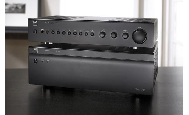 NAD C 165BEE Shown with NAD's optional C275BEE stereo power amplifier