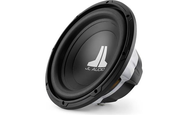 jl audio 12w0v3 4 w0v3 series 12 4 ohm subwoofer at crutchfield jl audio 12w0v3 4 front