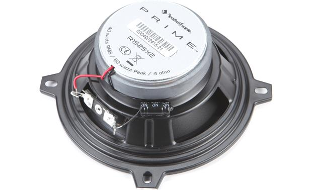 Rockford Fosgate R1525X2 Back