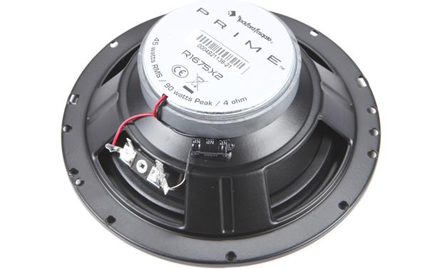 Rockford Fosgate R1675X2 Back