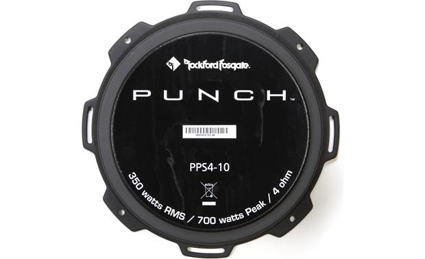Rockford Fosgate Punch PPS4-10 Back