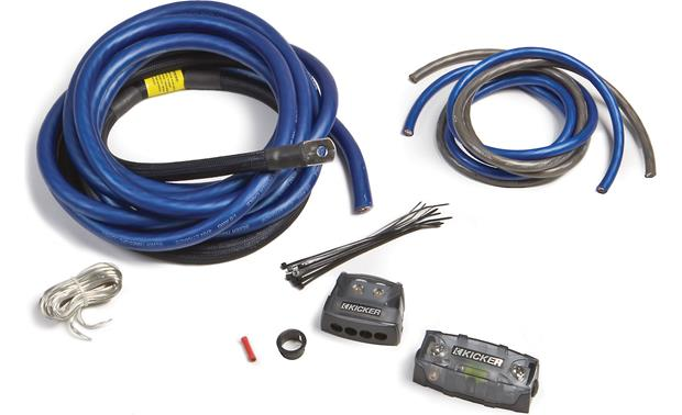 kicker pkd1 1 0 gauge dual amplifier power wiring kit at crutchfield rh crutchfield ca amp wiring kit canadian tire amp install kit canadian tire