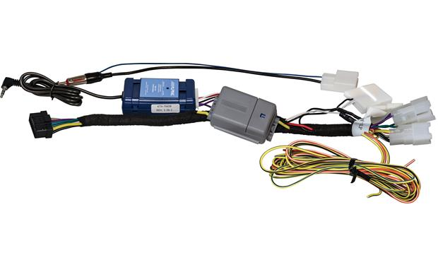 Alpine KTX-TND8 Restyle Dash and Wiring Kit Included wiring harness adapter