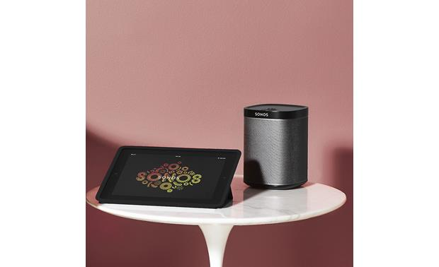 Sonos Play:1 Control it with your tablet (not included)