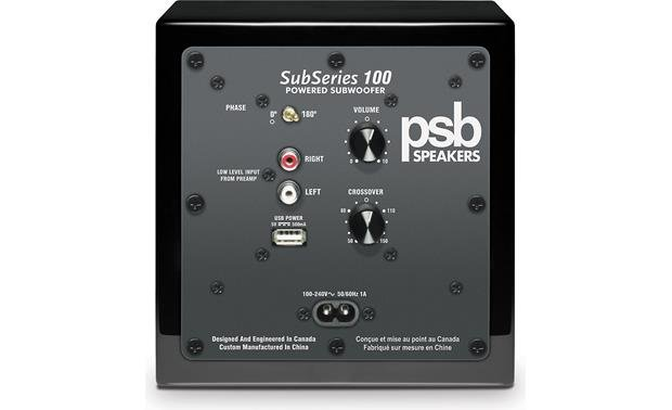 PSB Alpha PS1/SubSeries 100 SubSeries 100 (back)