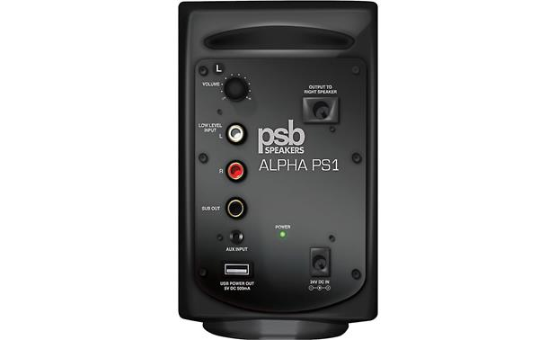PSB Alpha PS1/SubSeries 100 Left PS1 speaker (back)