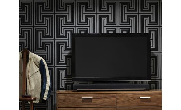 Sonos Playbar Shown with TV (not included)