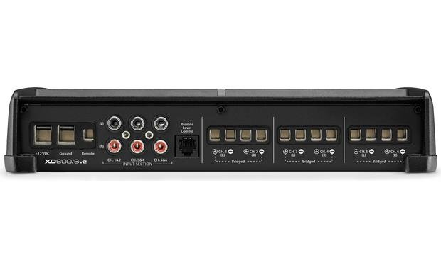 JL Audio XD600/6v2 Connection panel