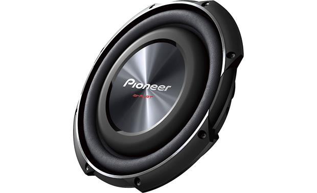 Pioneer TS-SW2502S4 Take up less space while still adding bass