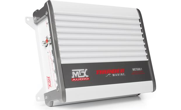 MTX WET500.1 Compact design is ideal for boats