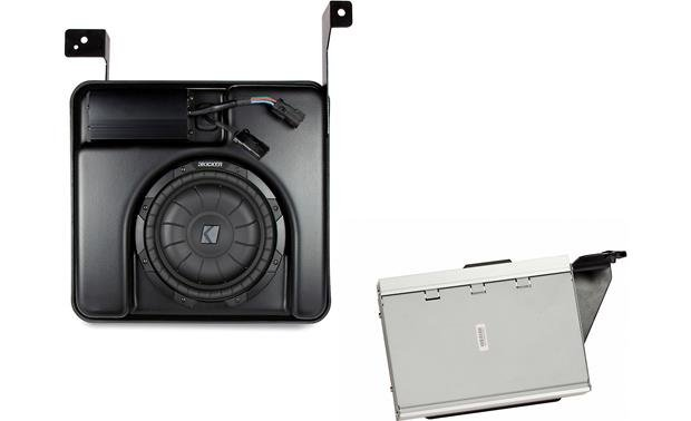 Kicker VSS PowerStage System Subwoofer and processor
