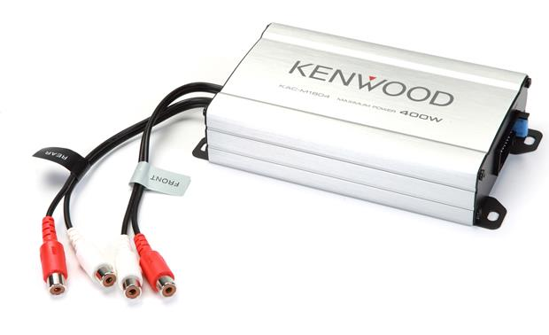 Kenwood KAC-M1804 Tough enough for land or sea