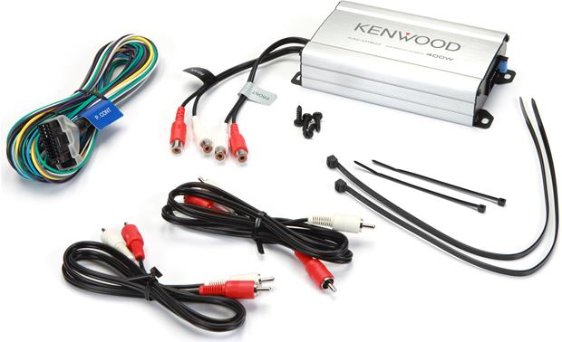 Kenwood KAC-M1804 Package contents