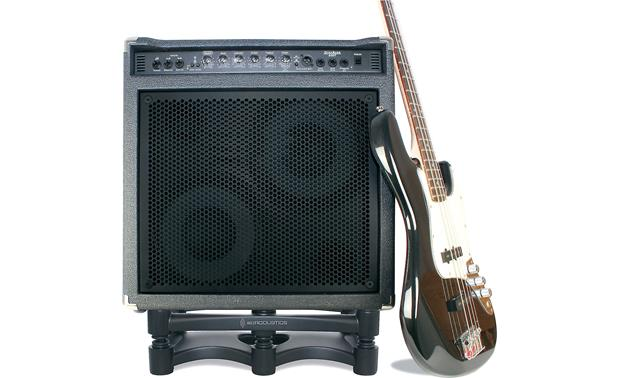IsoAcoustics ISO-L8R430 Monitor Stand (amplifier and guitar not included)