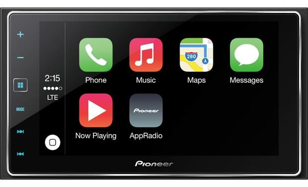 Pioneer SPH-DA120 AppRadio 4 The SPH-DA120 is a perfect platform for Apple CarPlay in your car.