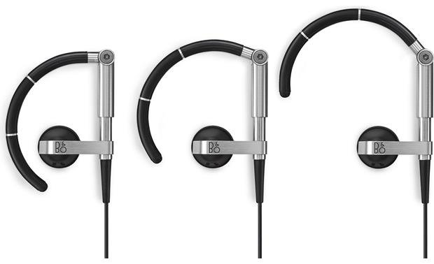 Bang & Olufsen Beoplay EarSet 3i Adjustable earpieces offer a secure, comfortable fit