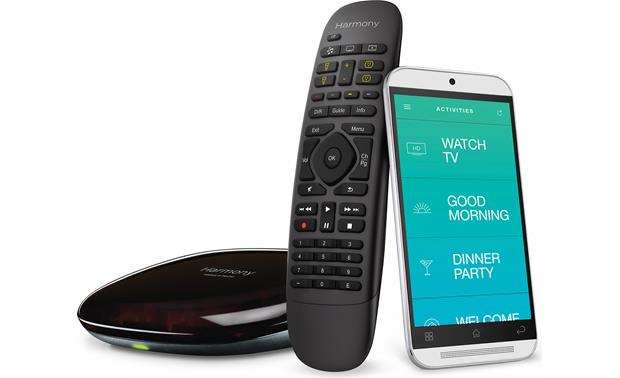 Logitech® Harmony® Companion Black (smartphone not included)