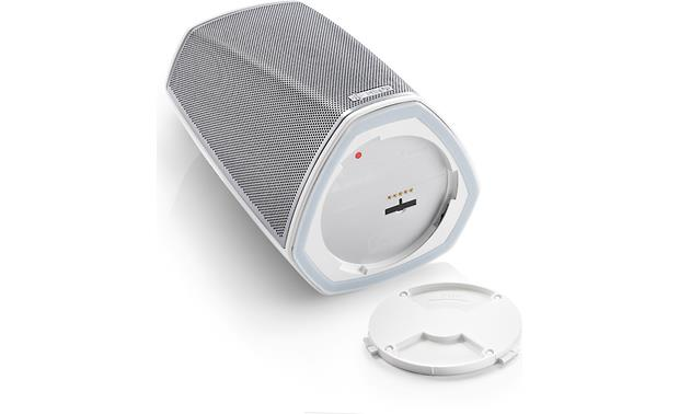Denon Go Pack for HEOS 1 Speaker White - connection detail (HEOS 1 not included)