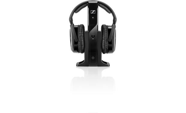 Sennheiser RS 165 Transmitter also recharges the headphones