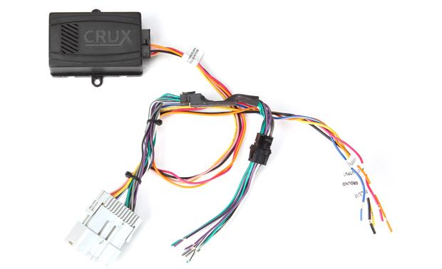 Crux SOCGM-17B Wiring Interface Front